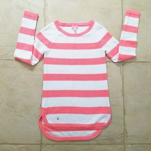 Lilly Pulitzer Sweater Watermelon White Stripes